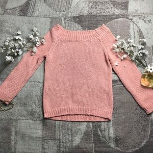 Marciano Coral Chunky Knit Sweater